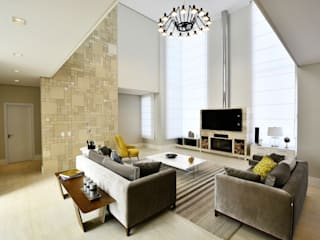 Salas de estar  por Marcelo Minuscoli - Projetos Personalizados, Moderno