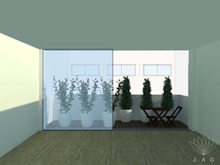 Fotomontagem:   por JAG arquitetura paisagista
