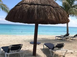 sombrilla de playa:  de estilo  por arqymad