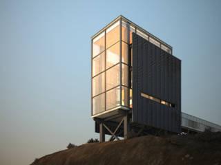 Refugio Rojas: Casas de campo de estilo  por Castañeda Arquitectos Ltda