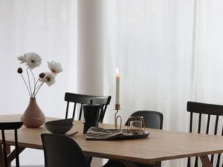 Scandinavian style dining room by Home Staging Nordisch Scandinavian