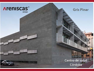 ARENISCAS STONE Cliniche moderne Pietra Grigio