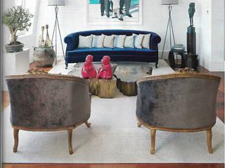 projecto chiado Salas de estar modernas por Officina Boarotto Moderno