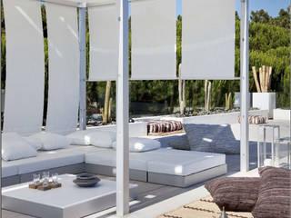 Projeto Qta. da Marinha Jardins modernos por Officina Boarotto Moderno