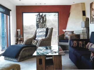 Projeto Serra de Loulé Salas de estar modernas por Officina Boarotto Moderno