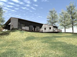 Fachada: Casas unifamiliares de estilo  por casa rural