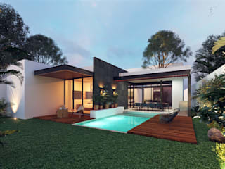 Detached home by Heftye Arquitectura