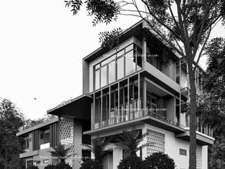 Resort & Hotel จ.ราชบุรี โดย fewdavid3d-design โมเดิร์น