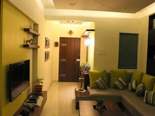 Residential Project - Mr Mohanshree, CBD Belapur, Navi Mumbai Dezinebox Modern living room