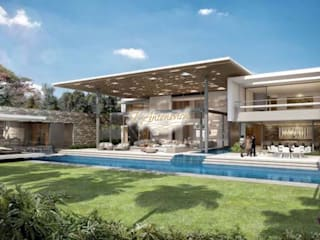 ​Architectural project in Los Angeles by Katrina Antonovich:  Houses by Luxury Antonovich Design