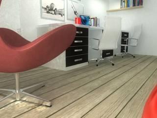 Habitaka diseño y decoración Eclectische studeerkamer