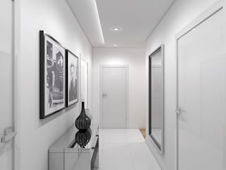 Classic style corridor, hallway and stairs by Creoline Classic