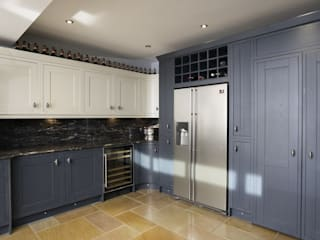 Timber Inframe shaker kitchen Ormskirk, Liverpool Cleveland Kitchens Built-in kitchens