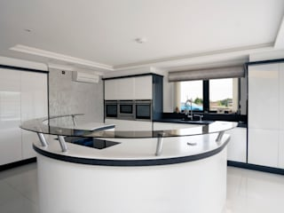 Gloss Handleless Kitchen Ormskirk Cleveland Kitchens Modern kitchen