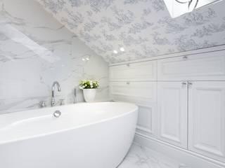 Dom w klasycznej odsłonie. : styl , w kategorii Łazienka zaprojektowany przez Mala & Co. Malwina Wilczek ,