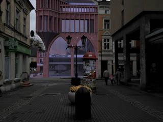 Widok z ulicy Kościelnej.: styl , w kategorii  zaprojektowany przez 05PM-ARCHITEKT