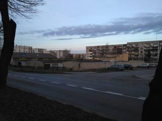 Garaż wielopoziomowy na osiedlu z wielkiej płyty. Osiedle Łużyckie w Świebodzinie. od 05PM-ARCHITEKT
