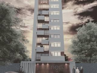 Torre mirando al río l Creación Natural: Dormitorios de estilo minimalista por CREACIÓN NATURAL