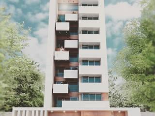 Torre mirando al río l Creación Natural Dormitorios minimalistas de CREACIÓN NATURAL Minimalista