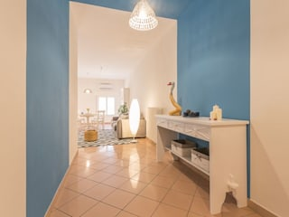 Anna Leone Architetto Home Stager ระเบียงและโถงทางเดิน
