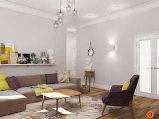 Artichok Design Living room Purple/Violet