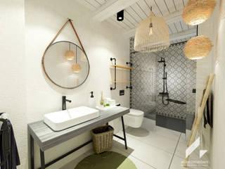 지중해스타일 욕실 by AG INTERIORISMO 지중해