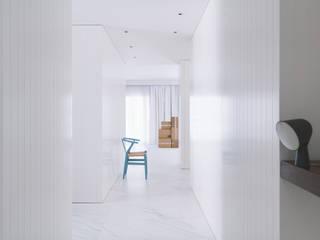 Minimalistischer Flur, Diele & Treppenhaus von MLMR Architecture Consultancy Minimalistisch