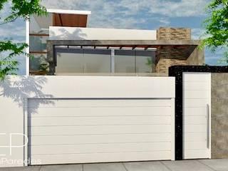 Proyecto Arquitectonico - Remodelacion y Ampliacion de Vivienda: Casas unifamiliares de estilo  por EPG  Studio