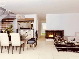 Proyecto Arquitectonico - Remodelacion y Ampliacion de Vivienda: Salas / recibidores de estilo  por EPG  Studio