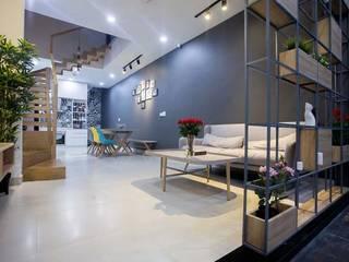 Salon moderne par Công ty TNHH Xây Dựng TM – DV Song Phát Moderne