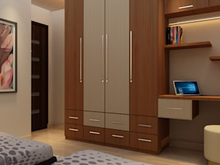 RESIDENTIAL PROJECT:  Bedroom by MAD DESIGN