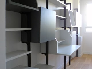 modern Study/office by La C.S.T