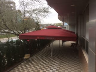 Akaydın şemsiye Gastronomy Aluminium/Zinc Red