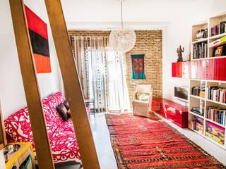 Mi Casa Salones de estilo moderno de Las Casas de Iridella Moderno