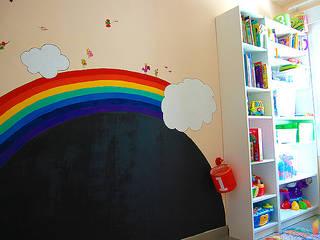 Casa Vega y Mateo: Dormitorios infantiles de estilo  de Las Casas de Iridella