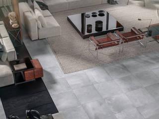 Micro-cimento urbano, para espaços contemporâneos e práticos: Pavimentos  por Lizmundo Salas de Banho e Cozinha