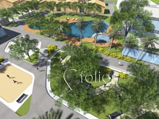 сучасний  by Cfolios Design And Construction Solutions Pvt Ltd, Сучасний