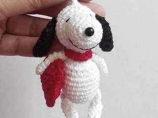 Snoopy amigurumi de Decorartegrace Amigurumis