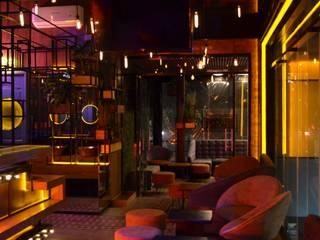 LA SERENATA Bares y clubs de estilo industrial de Praxis Arquitectura Industrial