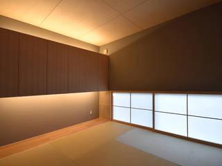 今泉の家 モダンデザインの 多目的室 の 熊倉建築設計事務所 モダン