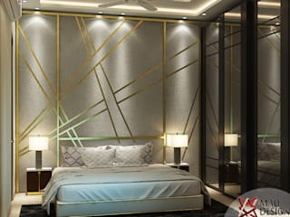 RESIDENTIAL PROJECT Eclectic style bedroom by homify Eclectic