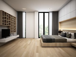 Kamar Tidur oleh Zero field design studio, Modern