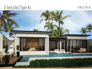 Tungtong Beach villas:   by Indra haus