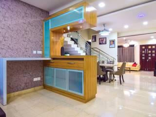 Bar unit:  Dining room by Team Kraft