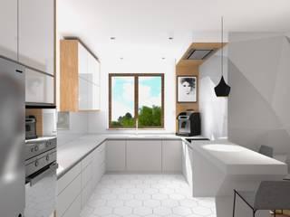 Remont kuchni i jadalni od BOOM studio Nowoczesny