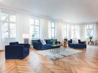 Projekty,  Salon zaprojektowane przez CARLO Berlin - Architektur & Interior Design