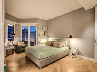 Modern style bedroom by MOB ARCHITECTS Modern