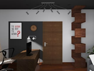 Modern Study Room and Home Office by BOOM studio Modern