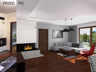 Modern Living Room by BOOM studio Modern