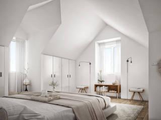 Montrose - Estoril Capital Partners Quartos modernos por Onstudio Lda Moderno